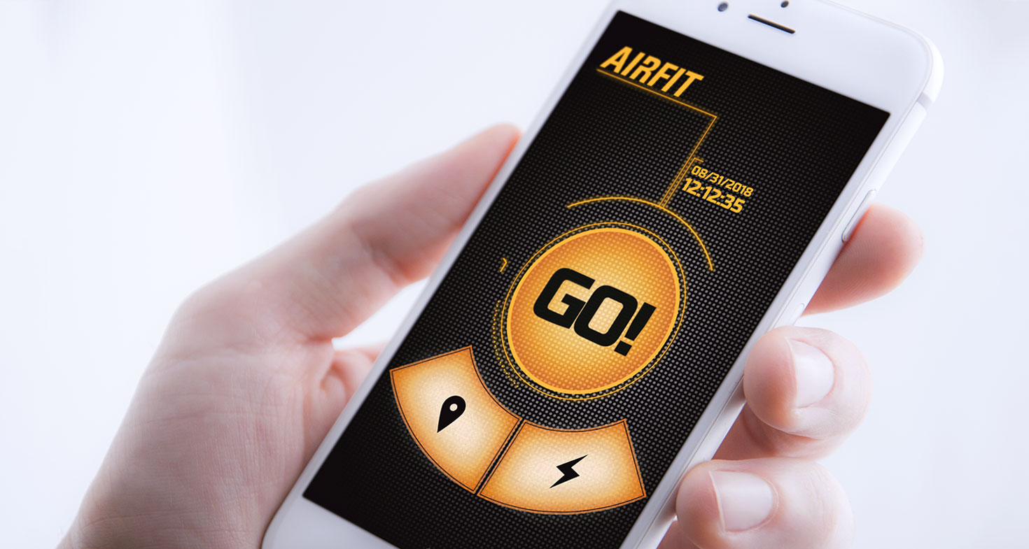 Airfit application mobile