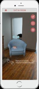 Application aménagement maison 3D