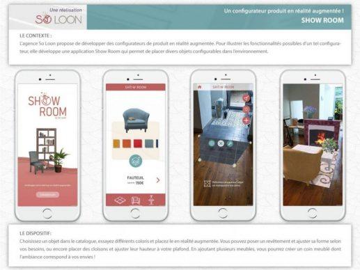 Présentation appli 3D ShowRoom