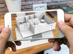 telephone en realite augmente pour l immobilier
