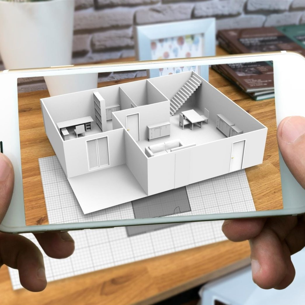 telephone en realite augmente pour l immobilier carré